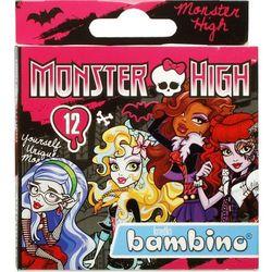 St-Majewski, Monster High, Bambino, kredki, 12 kolorów