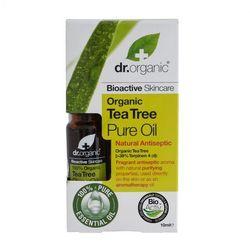 Dr Organic Tea Tree organiczny olejek z drzewa herbacianego