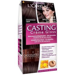 LOREAL Paris Casting Creme Gloss 412 Mroźne kakao Farba do włosów