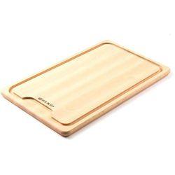 Deska do Krojenia Mięsa z Drewna Bukowego   390x230x16 mm