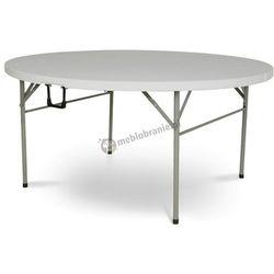 Stół cateringowy okrągły składany 153 cm