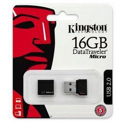 Pamięć KINGSTON DataTraveler Micro USB 2.0 (DTMCK) 16 GB
