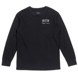 koszule BRIXTON - Driven Black (0100) rozmiar: M