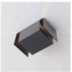 Kinkiet LAMPA ścienna IRUMA 405/H-PING9/SZ Shilo metalowa OPRAWA minimalistyczna IP20 szary