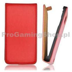 Slim Flip Etui 2 dla Sony Xperia J-ST26, Red