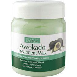 BEAUTY FORMULAS WAX Awokado wosk do włosów 500ml