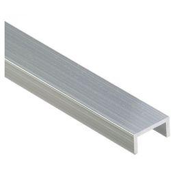 Ceownik aluminiowy 100cm, 2x1 cm Cezar