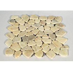Mozaika kamienna matowa kremowa 30x30cm 1m2
