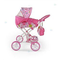 MILLY MALLY Wózek dla lalek Paulina biał