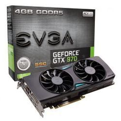 EVGA GeForce ® GTX 970 4GB SSC GAMING ACX 2.0