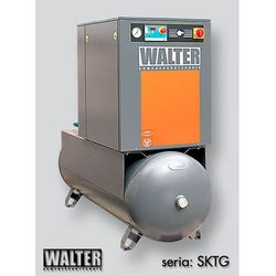 Sprężarka śrubowa WALTER SKTG 11 [8/10/15 bar] COMBO