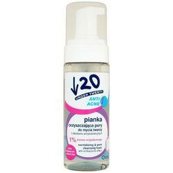 UNDER TWENTY 150ml Anti Acne Pianka oczyszczająca pory do mycia twarzy
