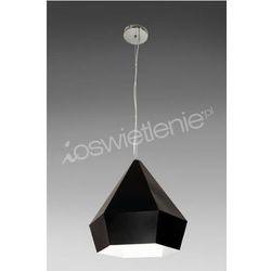 DIAMANTE BLACK 1pł zwis - żyrandol/lampa wisząca