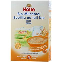 HOLLE 250g Kaszka mleczno-jaglana BIO dla niemowląt po 4 miesiącu życi