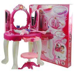 Ogromna bajkowa toaletka dla księżniczki różdżka
