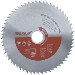 Tarcza do cięcia DEDRA HS50080 500 x 30 mm do drewna + DARMOWY TRANSPORT!