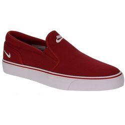 buty Nike Toki Slip TXT - Gym Red/White