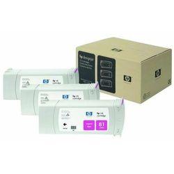 HP oryginalny ink C4932A, No.81, magenta, 680ml, HP DesignJet 5000, PS, UV, 5500, PS, UV