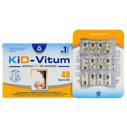 KiD-Vitum witamina K i D dla niemowląt kaps.twist-off - 48 kaps.