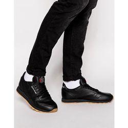 Reebok Classic Leather Trainers 49800 - Black