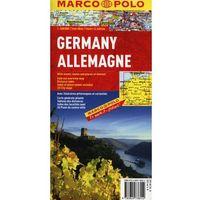 Niemcy mapa 1:800 000 Marco Polo