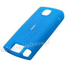 Etui Silikonowe Nokia CC-1006 Blue do 5250 - Blue