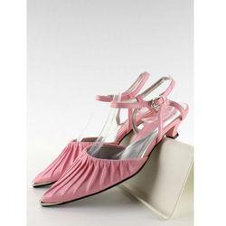 Sandałki niski obcas 1952-212 Pink