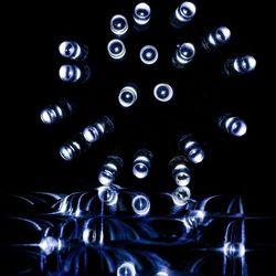 BIAŁE LAMPKI CHOINKOWE ZWISAJĄCE NA DOM 200 DIOD - 200 LED / 10 METRÓW