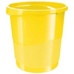 Kosz na śmieci Esselte Vivida 14l 623946 żółty
