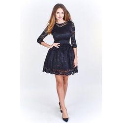 87393f7ba2 koronkowe stringi meskie (od Koronkowa sukienka z rozkloszowaną ...