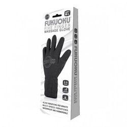 Fukuoku - rękawiczka do masażu M/L (lewa czarna)