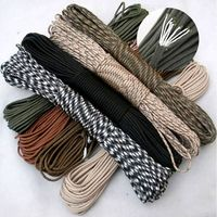 90 color Paracord 550 Paracord Parachute Cord Lanyard Rope Mil Spec Type III7Strand 100FT Climbing Camping survival equipment