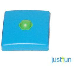 Plastikowa nasadka na belkę kwadratową 100x100 mm - niebieski