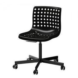 SKALBERG / SPORREN Krzesło obrotowe, czarny