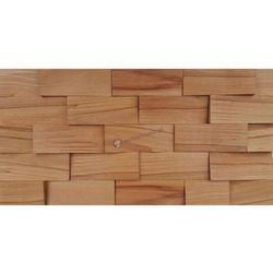 Panele drewniane Buk twardzielowy łupany cegiełka *045 - Natural Wood Panels