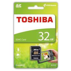 Karta pamięci Toshiba 32GB CL4 High Speed N102 (THN-N102K0320M4) Darmowy odbiór w 20 miastach!