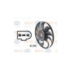 HELLA Wentylator, kondensator klimatyzacji - 8EW009144-601