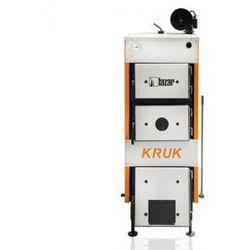 Stalowy kocioł górnego spalania KRUK S z ręcznym załadunkiem na drewno i węgiel 34kW