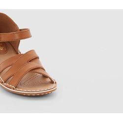 Sandały skórzane z paskiem