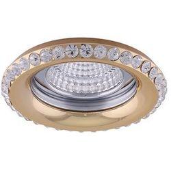 Oczko halogenowe 1X50W GU10 71081 Złoty LUXERA