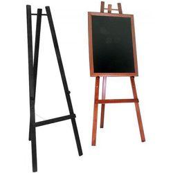Sztaluga z drewna bukowego, kolor mahoń, 165cm