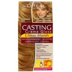 Loreal Paris Casting Creme Gloss Farba do włosów bez amoniaku Satynowy Blond nr 801
