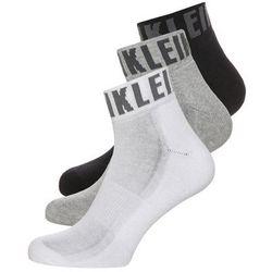 Calvin Klein Underwear 3 PACK Skarpety oxford heather/white/black