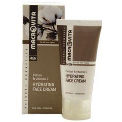 Macrovita HYDRATING FACE CREAM FOR MEN Nawilżający krem do twarzy dla mężczyzn z bawełną i witaminą C (31051)