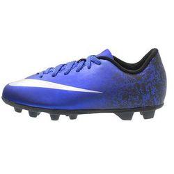 Nike Performance MERCURIAL VORTEX II CR FGR Korki Lanki deep royal blue/metallic silver/racer blue/black