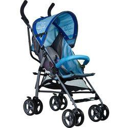 Wózek spacerowy Alfa Caretero (niebieski)