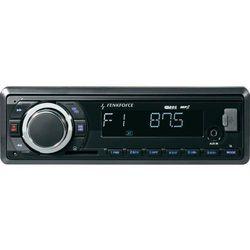 Radio samochodowe, renkforce BT-RSD1802K 374225, 4 x 40 W, MP3, jack, USB, Bluetooth, Zawiera pilot zdalnego sterowania, Zestaw głośnomówiący Bluetooth®