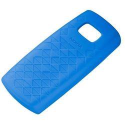 Etui Silikonowe Nokia CC-1021 Niebieskie do Nokia X1-01 - Blue