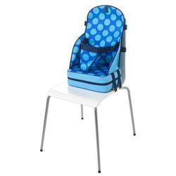 Quaranta Settimane, Przenośny fotelik dla dzieci z neoprenu, Niebieski w kropki Darmowa dostawa do sklepów SMYK