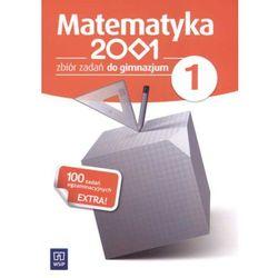 MATEMATYKA 2001 1 GIMNAZJUM ZBIÓR ZADAŃ (opr. miękka)